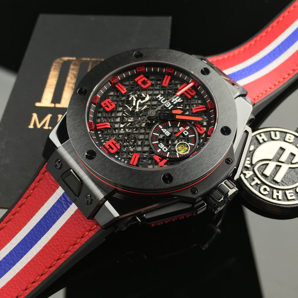 hublot big bang ferrari speciale unico ceramic replica