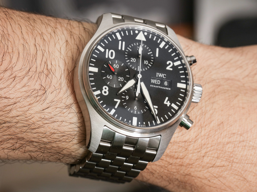 Hands-On With IWC Pilot's Chronograph Men's Replica