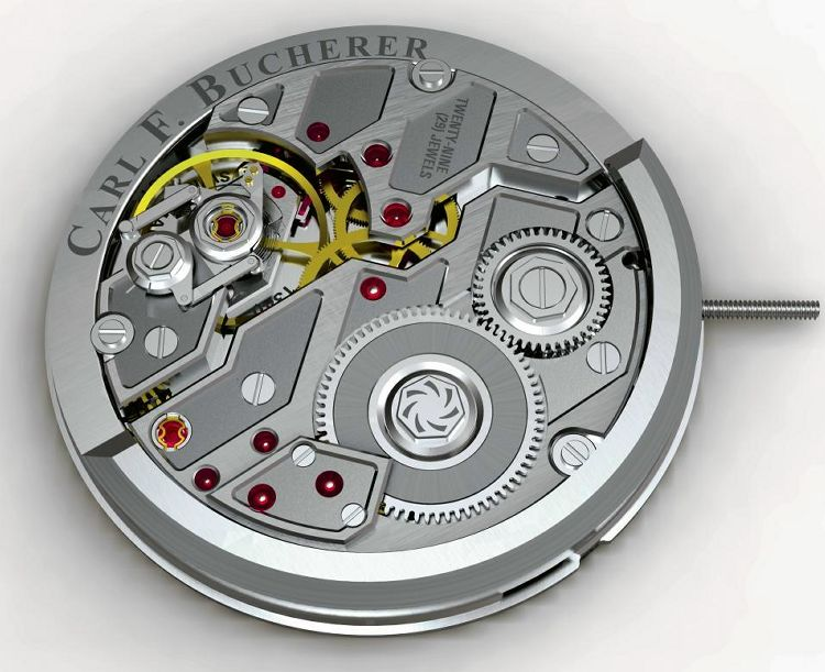 The Techy & Innovative Automatic Caliber CFB A1000 Watch Movement From Carl F. Bucherer Watch Releases