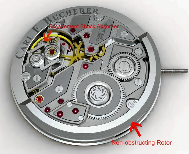 The Techy & Innovative Automatic Caliber CFB A1000 Watch Movement From Carl F Bucherer Watch Snob Replica Watch Releases