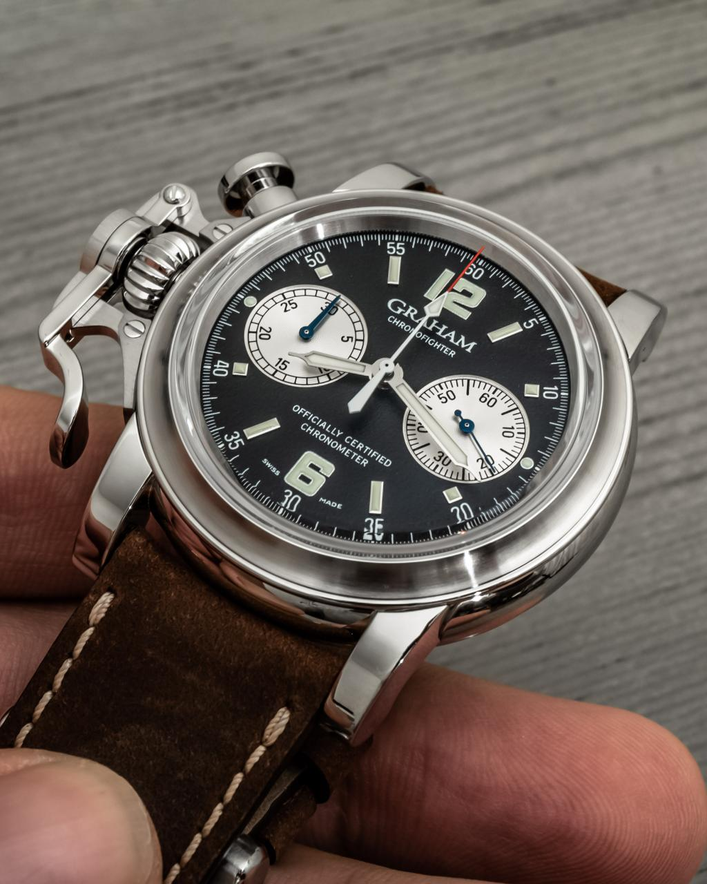 Graham Chronofighter Vintage 25th Anniversary Limited-Edition fake Watches