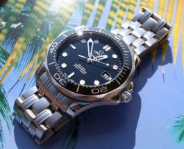 Omega Men's Seamaster Black Dial Replica (212.30.41.20.01.003) Watch Review