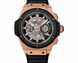 Reviewing The Luxury Hublot King Power Unico King Gold Carbon Automatic Chronograph Replica Watch