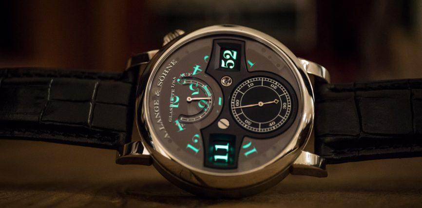 Buy The Popular A. Lange & Sohne Long Zeitwerk Luminous Replica Watch