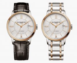 Baume & Mercier New Classima Collection Replica Men's Watch Introducing