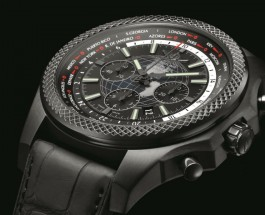 Hands-On With Breitling for Bentley B05 Unitime Midnight Carbon Replica
