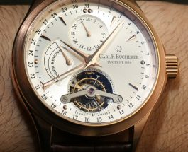 Replica Watches Online Safe Carl F. Bucherer Manero Tourbillon Watch Hands-On