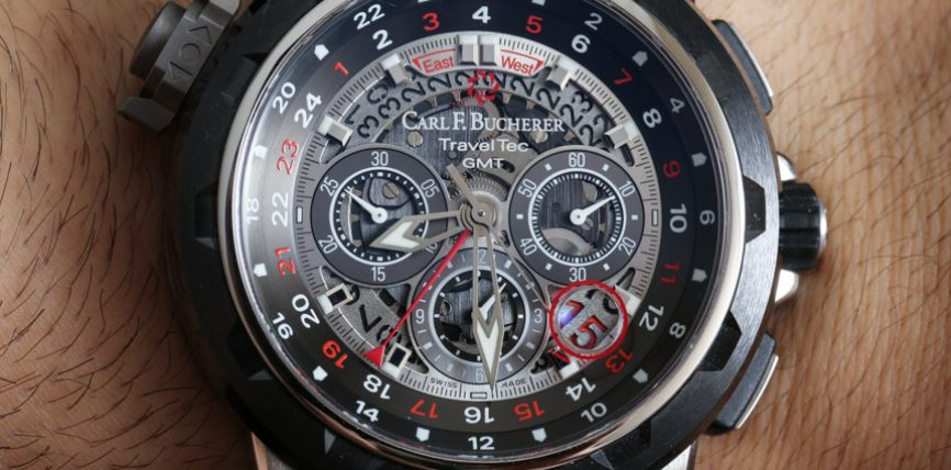 Replica Expensive Carl F. Bucherer Patravi TravelTec GMT FourX Watch Review