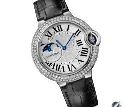 Let Us Review The Cartier Ballon Bleu De Cartier Moon Phase Replica