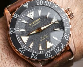 Presenting The New Eterna KonTiki Manufacture Bronze Dive Replica Watch