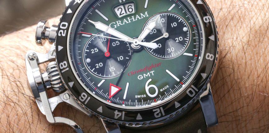 A Charming Watch On Your Wrist:Graham Chronofighter Vintage GMT Men's Replica Watch