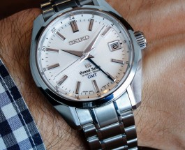 Reviewing The Classic Grand Seiko GMT Replica Watch