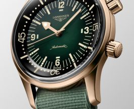 longines debuts legend diver watch in bronze Replica watches Evaluation