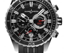 Presenting The New Ulysses Nardin Diver Chronograph Hammerhead Shark 44mm Mens Replica