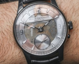 A Review Of  Moritz Grossmann Atum Pure M 'Mesh Dial' Replica