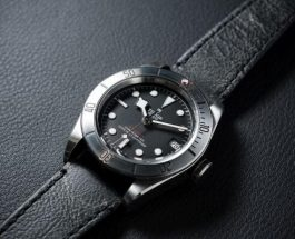 Presenting The New Tudor Heritage Black Bay Steel Replica