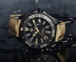 Take A Look At The TAG Heuer Aquaracer 300 M Calibre 5 Black Titanium Replica