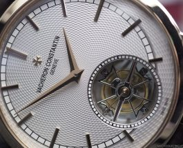 Swiss 7750 Valjoux       Insider: Vacheron Constantin Traditionnelle Minute Repeater Tourbillon ref. 6500T. The Tourbillon with a Maltese Cross on its Carriage.     Replica Wholesale
