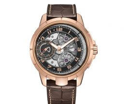 We Buy Armin Strom – Rose Gold Edge Double Barrel Japanese Movement Replica