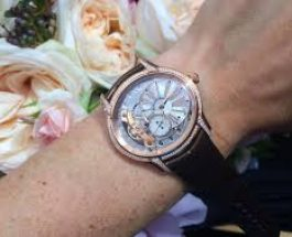 Lady's Oval-shaped Replica Watch Review — Audemars Piguet Millenary Hand