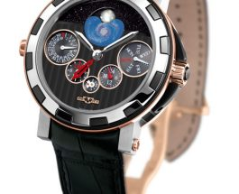 DeWitt Academia Quantieme Perpetuel Nebula GMT Watch Available On James List Replica Trusted Dealers