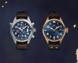 "The IWC Pilot's Watch Double Chronograph Edition — ""Le Petit Prince"" Replica Watch For Sale"